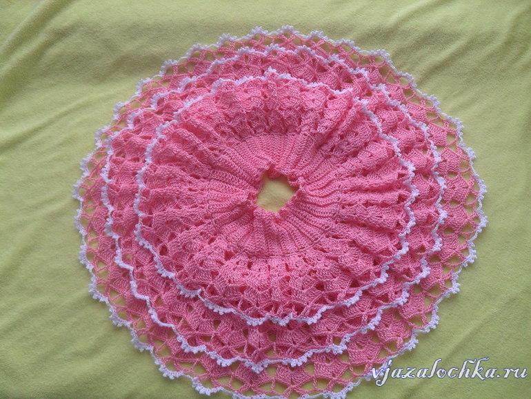 вязаные детские юбки схемы вязания юбок для девочек