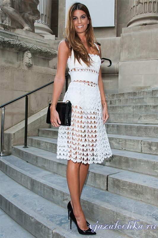 Платье элизабет крючком схема фото 683