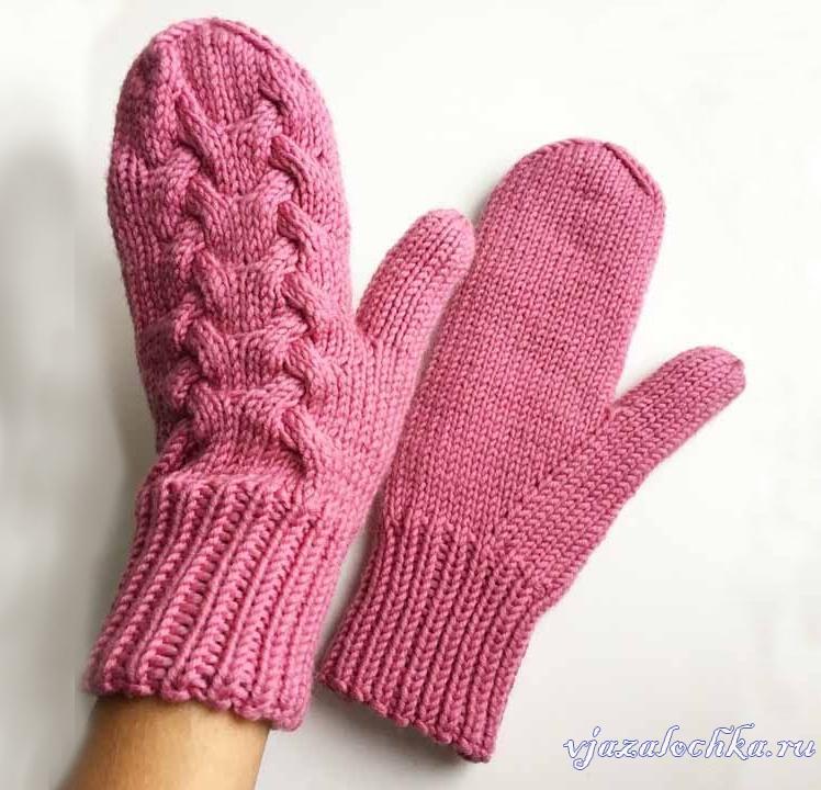 вязаные женские перчатки и варежки схемы вязания вязалочкару