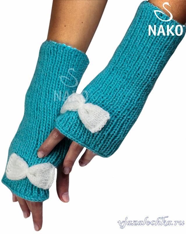 Вязаные женские перчатки и варежки – схемы вязания ...